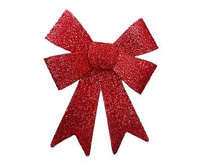 Enfeite Decorativo - Laço Natalino - Vermelho