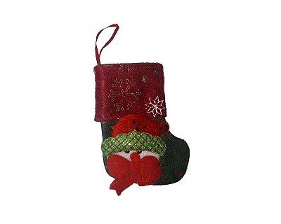 Enfeite Decorativo - Meia de natal 2