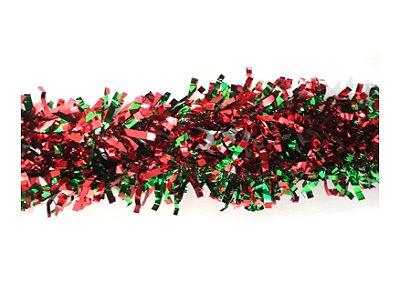 Festão Natalino - Vermelho e Verde