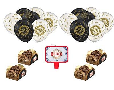 Festa De Boteco * Decoração * Forminhas P/ Doces Vela Balões