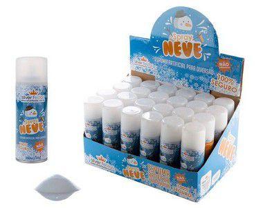 Spray Neve - Espuma Artificial - 5 unidades