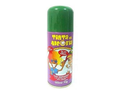 Tinta Spray de Cabelo - Verde