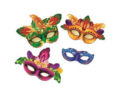 Máscara Rosto - Carnaval  -  04 Unidades