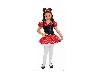 Fantasia Infantil - Minnie Luxo
