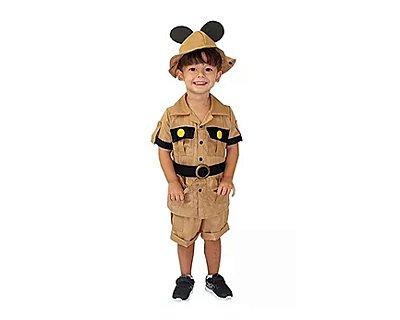 Fantasia Infantil - Mickey Safari - 4 anos