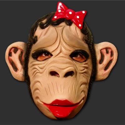 Máscara Latex Carnaval - Macaca