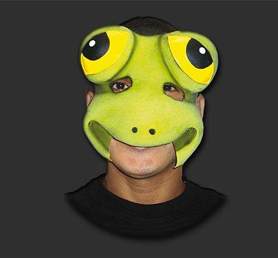 Máscara Carnaval - Sapo com Elástico