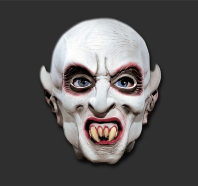Máscara  latéx Inteira - Vampiro