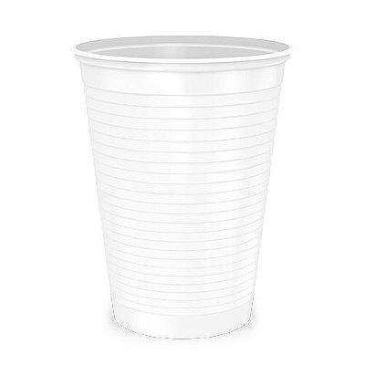 Copo Descartável Branco -  300ml
