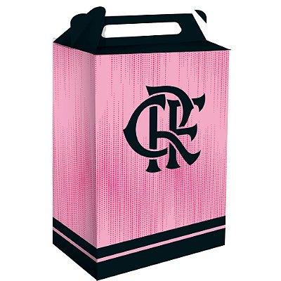 Caixa Supresa Flamengo Rosa - 08 unidades