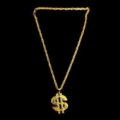 Cordão Ostentação - Dólar - 31cm