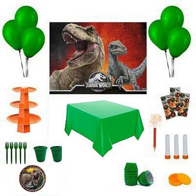 Kit Decoração de Festa Especial - Jurassic Park