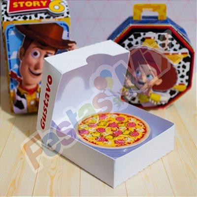 Caixa Pizza - Lembrancinhas Personalizadas Luxo -  Toy Story - 10 Unidades