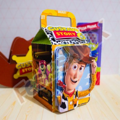 Caixa Milk luxo Lembrancinhas Personalizadas Luxo -  Toy Story  - 10 unidades