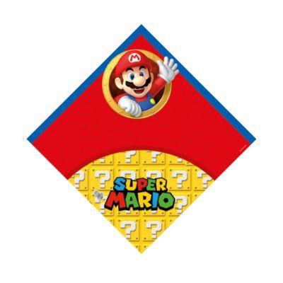 Saco Express 39x39cm Super Mario para Ovos de 350g a 500g - 1 Unidade