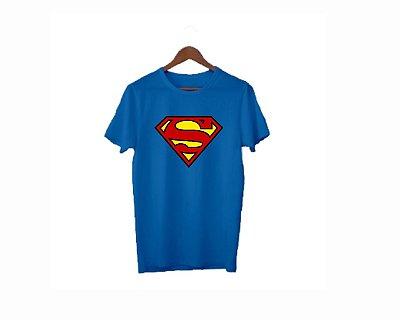 Camisa Personalizada para Festa- Qualquer Tema- Azul