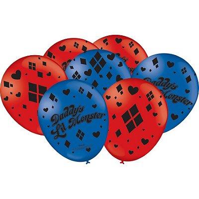 Balão Especial Festa Arlequina - 25 unidades