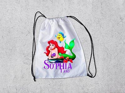 20 Mochilas Ariel - Mochilas Personalizadas - A Pequena Sereia