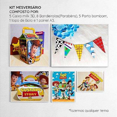 Kit Mesversário - Toy Story