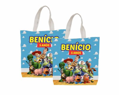 10 Eco Bag Personalizada - 25 x 30 - Toy Story