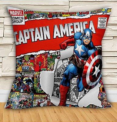 Almofada - Capitão América - Tamanho 30x30