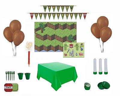Kit Decoração de Festa Especial  - Mini Pixel