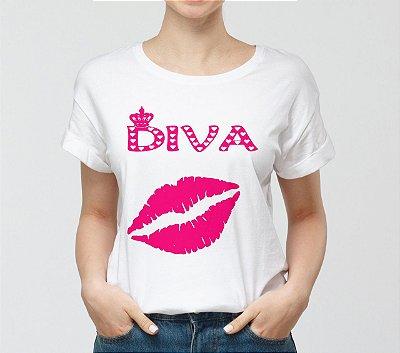 Camisa Personalizada - Diva