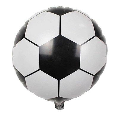 Balão Metalizado - Futebol 45cm