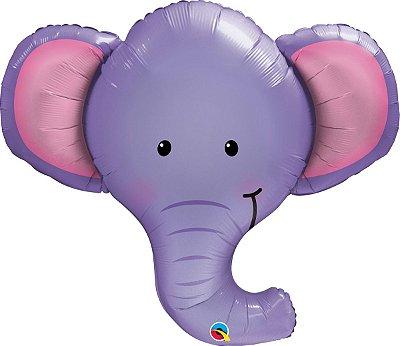 Balão Metalizado Elefante - 99cm
