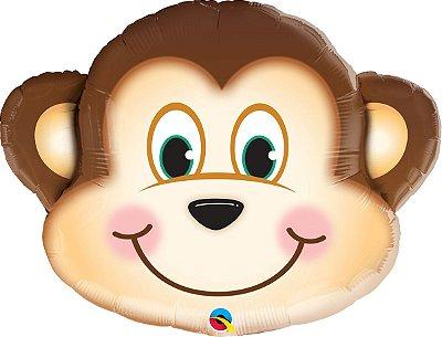 Balão Metalizado Macaco 89cm