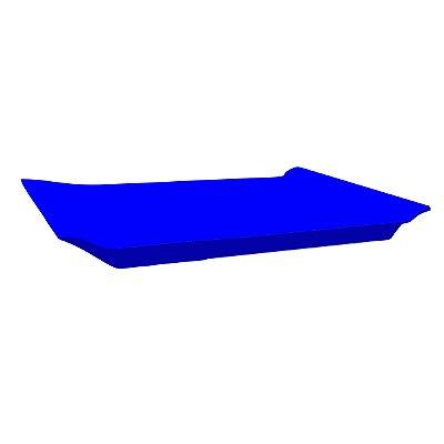 Bandeja Retangular - Azul
