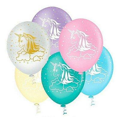 Balão N° 10- Unicórnio - 25 unidades
