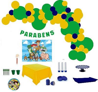 Kit Decoração de Festa Master - Toy Story
