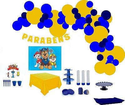 Kit Decoração de Festa Master - Patrulha Canina