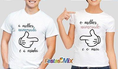 Kit Camisa Dia dos Namorados - O Melhor é Meu