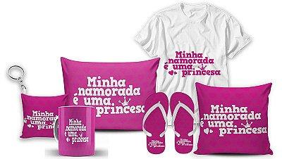 Kit Dia dos Namorados - Namorada Princesa
