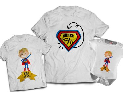 Kit Dia dos Pais - Super Pai 2