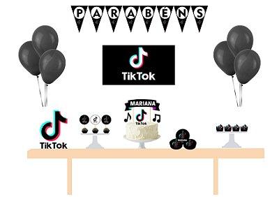 Kit Festa Espetacular Personalizado - Tiktok