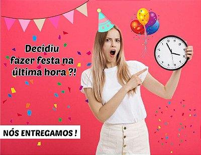Kit Festa Personalizada + Motoboy Copacabana