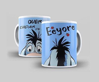 Caneca Cerâmica Coleção Disney  - Eeyore