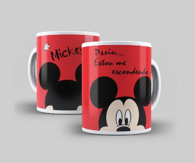 Caneca Cerâmica Coleção Disney  - Mickey