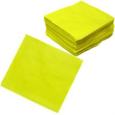 Guardanapo de Papel - Amarelo- 100 folhas
