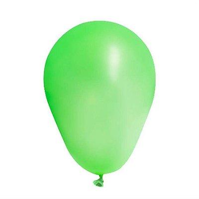 Balão Latex  Neon nº9 - Verde Neon