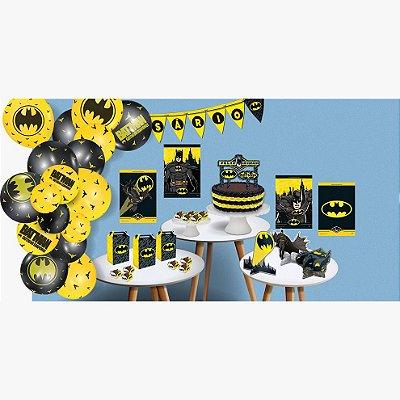 Kit Festa Só um Bolinho - Batman - 240 peças