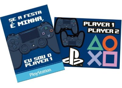 Kit Decorativo - Playstation
