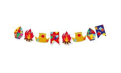 Faixa Decorativa Arraiá Festa Junina - 01 unidade