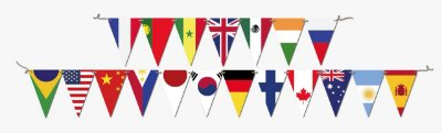 Faixa Decorativa  Bandeira Now United Festcolor