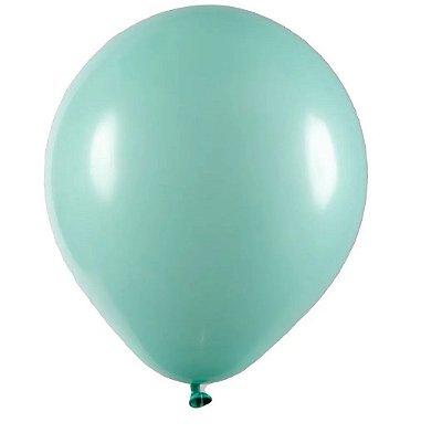 Balão Látex n° 8 - Verde Claro - 50 Unidades