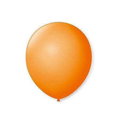 Balão Látex n°9 - Laranja - 50 Unidades