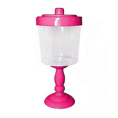 Baleiro Decorativo para Festa - 26 cm - Rosa Pink